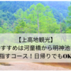 【上高地観光】おすすめは河童橋から明神池を目指すコース!