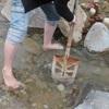 No:053【秋田県】川原を掘って自作温泉にチャレンジ!必要なのはスコップと筋肉と闘志!