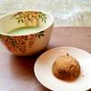 毎朝の一服 葛饅頭 塩野 early_morning Tea