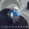 東京スカイツリーを真下から見上げてみる #360pic