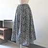 カリキュラムコースのその1、ウエストゴムスカートの縫製ですよ。