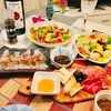パスタを作って、イタリアンな夕べを楽しむ