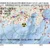 2017年08月26日  浜岡原子力発電所周辺の地殻変動と地震活動