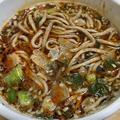 日清食品「dancyu食いしん坊倶楽部推薦!! 虎ノ門 港屋 伝説のラー油蕎麦」