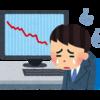 日本株は全面安で、含み益がほとんどなくなってしまったー