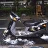 #バイク屋の日常 #HONDA #LEAD100 #洗車 #納車