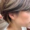 【大人世代のデザインカラー】ポイントカラーでショートヘアにインパクトを