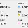 『2日で42km』のセット練習 2回目