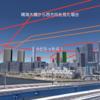#931 五輪開会式時のブルーインパルスの見え方 晴海大橋、ぐるり公園、有明のケース