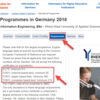 ドイツの大学への応募方法