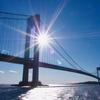 NY旅行記【1日目⑥ トラボルタも黄昏れた橋】
