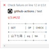 GitHub Actionsで、Perlの落ちたテストをアノテーションするTest2プラグインを書いた / GitHub ActionsのProblem matcherについて知った