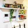 【DIY・自作】キッチンの壁にピッタリ収まるスパイスラックを作りました!!