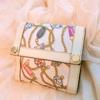 グッチのサテン&革財布をシャンプーで洗い、きれいになった件