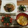 2017/10/25の夕食