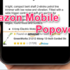 はてなブログに Amazonの「Mobile Popover」を設置してみる。