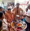 【インドで国際結婚】新郎の家に新婦が入る日。ヒンドゥー教式 親睦イベント