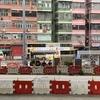 カラフルな香港の住宅