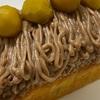 栗のパウンドケーキ&蓮根の鋏み揚げ、長芋の柚子胡椒和え