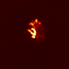 R020512ASTERの捉えた夜の西之島