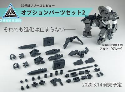 【カスタマイズ最前線】30MMオプションパーツセット2