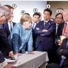 G7首脳会議は無秩序で(だらしなく)終了した……トランプは共同宣言を止めた(BBC)
