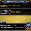 level.1477【青い霧】第184回闘技場ランキングバトル初日