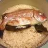 鯛の炊き込みご飯とイサキの刺身♡