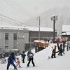 スキー旅行@野沢温泉①雪の初日