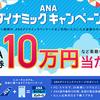 ANAダイナミックキャンペーン 第1弾!!
