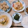 しゅうまいメインの和食ごはん。安穏芋にハマり中!