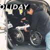 カーシェアリングの引渡し後の移動に最適 折り畳み電動ハイブリッドバイク