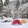 冬の秋田で雪キャンプしてきた