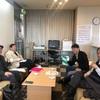 020-01-16 秋学期授業の最終回。ラウンジで懇談。プロジェクト。知研。立川。