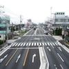 ジオラマ アスファルト道路製作