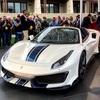● フェラーリ、50代目のオープンモデル、『488ピスタ スパイダー』を世界初披露