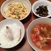 今日の夕ごはん【ザーサイとタケノコの卵炒め】-「きのう何食べた?」から