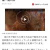 露店、終了か?出店で買った鶏肉料理からウジ虫。北海道旭川市