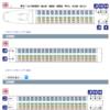 新幹線自由席で座れる確率が高い方法!座席数の多い号車に乗れ!