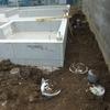 【新昭和】今週の住宅工事(5)2017/4/17~4/23・・・型枠が外れ排水設備工事に着工
