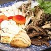 肴の天然きのこ料理 【秋限定!究極のすき焼き】