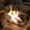 焚き火で焼く塊ローストポークと、悪魔の罠の巻!