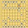 将棋ウォーズ初段の将棋日記 四間飛車(片美濃) VS 引き角戦法(左高美濃)