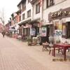 江南周遊(35)大運河沿いの商店街。