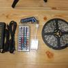 kr271 Vemico LEDテープライト 5M 300連SMD5050 RGB LEDテープ型 クリスマスライト 正面発光 切断可能 44キーリモコンと5 A/12V 電源アダプタ付き (防水)