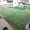 一条工務店i-cubeの庭へ人工芝を敷く!DIYでチャレンジしました。ついでにゴルフ練習場も。