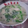 幸運な病のレシピ( 1932 )朝:「後片付けを科学する」、カボチャ煮つけ、青梗菜とオータムポエム(アスパラ菜)の鳥クリーム煮、味噌汁、マユのご飯