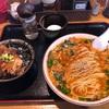 『じゃじゃ麵(麺や)おもり』「本日の気まぐれ中華+日替わり丼」 岩手県雫石町