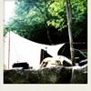 ちょっと雨。のGWキャンプ@将門の滝オートキャンプ場