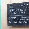 Brunhild Ferrari Concert - Cafe OTO ( London UK ) 2017